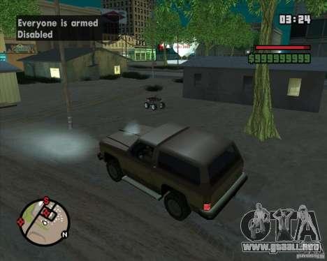 CJ-alcalde para GTA San Andreas