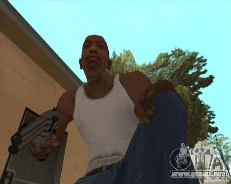 Smith Wesson HD + animation para GTA San Andreas segunda pantalla