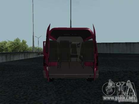 GAZ 2217 Sobol para GTA San Andreas vista hacia atrás