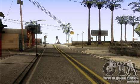 Grove Street Retextured para GTA San Andreas segunda pantalla