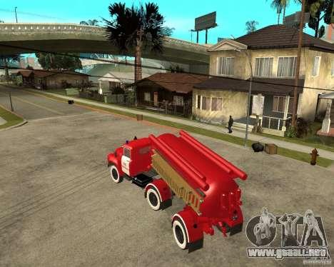 El camión de bomberos AB-6 (130В1) para GTA San Andreas left