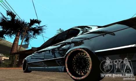 BMW 525 para la visión correcta GTA San Andreas