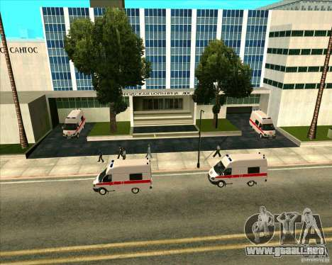 Priparkovanyj transporte v 3,0-Final para GTA San Andreas undécima de pantalla