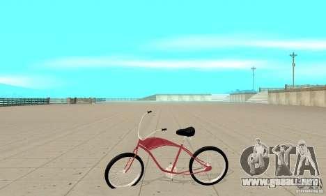 Classic Bike para GTA San Andreas left