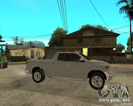 2008 Toyota Tundra para la visión correcta GTA San Andreas