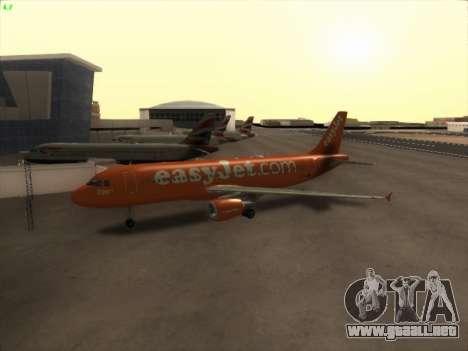 Airbus A320-214 EasyJet 200th Plane para GTA San Andreas left