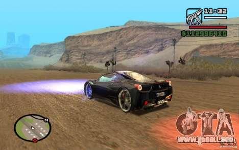 ENBSeries By Gasilovo para GTA San Andreas segunda pantalla