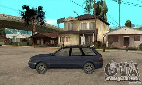 Audi 80 B4 Avant para GTA San Andreas left
