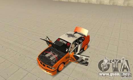 BMW Alpina B8 WideBody para GTA San Andreas vista hacia atrás