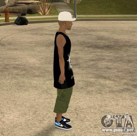 Cone Crew Skin para GTA San Andreas quinta pantalla
