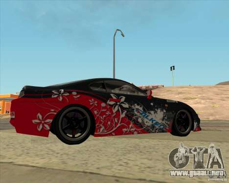 Toyota Supra by Cyborg ProductionS para GTA San Andreas left