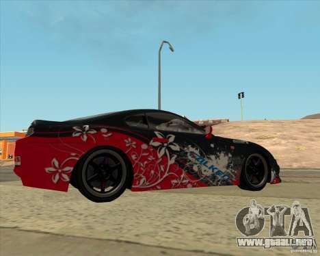 Toyota Supra by Cyborg ProductionS para GTA San Andreas left