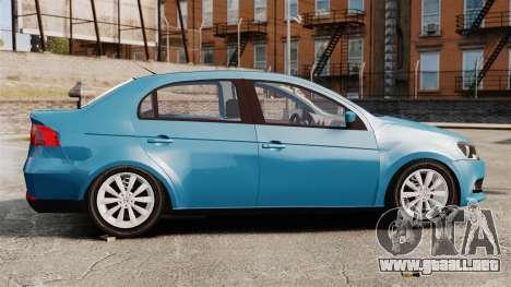 Volkswagen Voyage G6 2013 para GTA 4 left