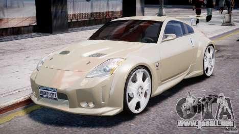 Nissan 350Z Veilside Tuning para GTA 4 left