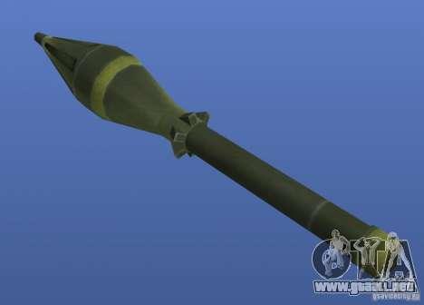 Weapons Retex para GTA 4 sexto de pantalla