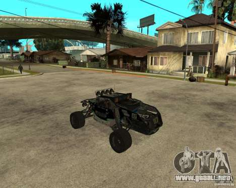BAJA BUGGY para GTA San Andreas left