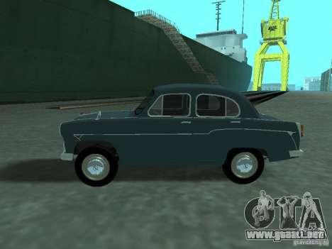 Moskvich 407 para GTA San Andreas left