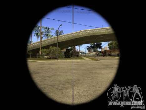 M82 para GTA San Andreas sucesivamente de pantalla