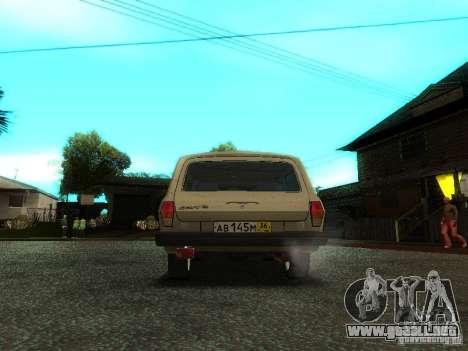 GAZ Volga 310221 Wagon para GTA San Andreas vista hacia atrás