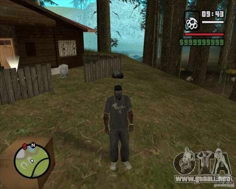 Casa Hunter v2.0 para GTA San Andreas sucesivamente de pantalla