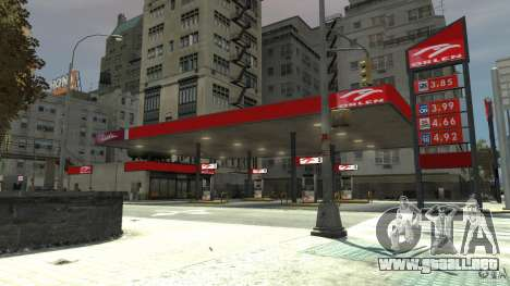 New gas station para GTA 4