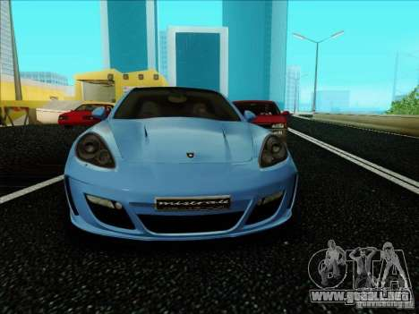 Gemballa Mistrale 2010 V1.0 para GTA San Andreas left