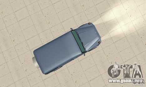 Mercedes-Benz G500 1999 v 1.1 no kengurâtnika para la visión correcta GTA San Andreas