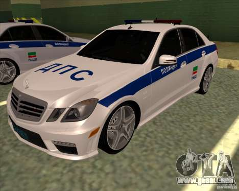 Mercedes-Benz E63 AMG W212 para GTA San Andreas