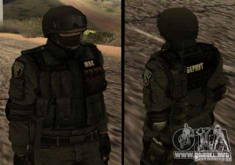 Ukraine Swat para GTA San Andreas