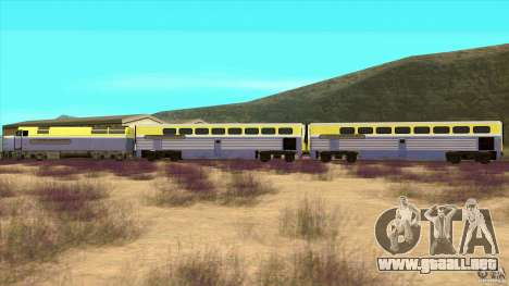 Latvian Train para GTA San Andreas left