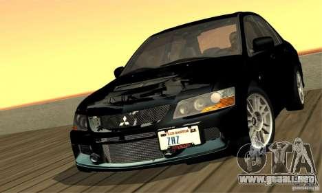 ENBSeries RCM para el PC débil para GTA San Andreas sexta pantalla