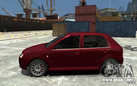Skoda Fabia para GTA 4 left