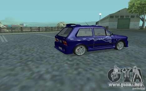 Yugo 45 Tuneable para GTA San Andreas vista hacia atrás