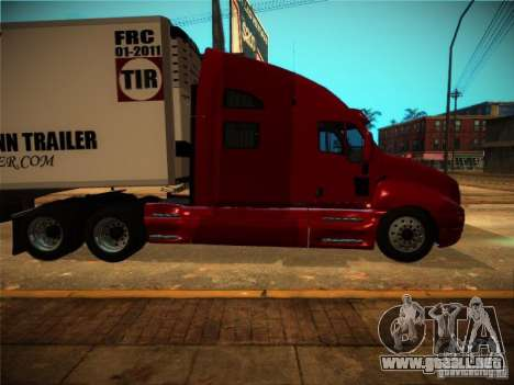 Kenworth T2000 v 2.5 para GTA San Andreas left