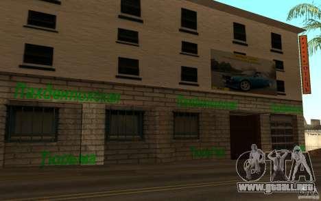 Calle playa nueva para GTA San Andreas quinta pantalla