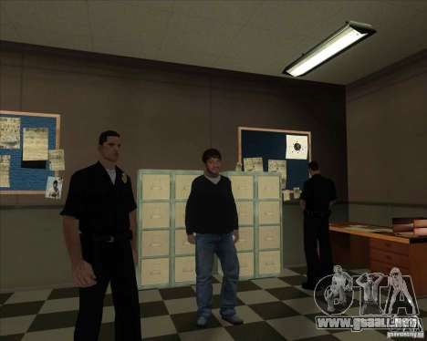 Sashka quebrantahuesos para GTA San Andreas sucesivamente de pantalla