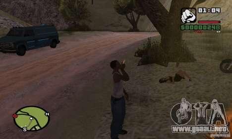 Relajación en el valle para GTA San Andreas segunda pantalla