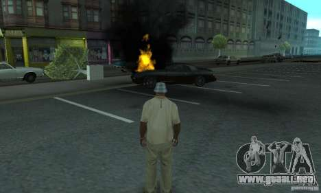 New Effects para GTA San Andreas sucesivamente de pantalla