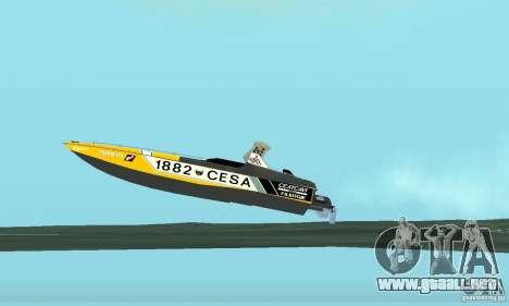 Cesa Offshore para visión interna GTA San Andreas