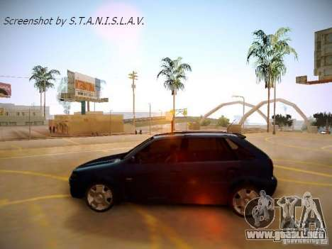 Volkswagen Golf V2.0 Final para la visión correcta GTA San Andreas