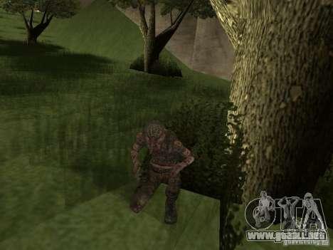 Snork de S.T.A.L.K.E. r para GTA San Andreas segunda pantalla