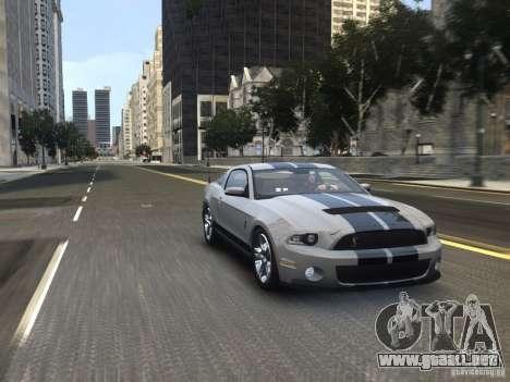 Shelby GT500 2010 para GTA 4 visión correcta