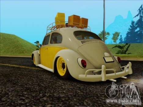 Volkswagen Beetle Edit para GTA San Andreas left