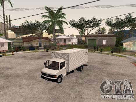 Mercedes Benz 710 para visión interna GTA San Andreas