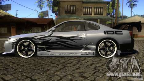 Nissan Silvia S15 Logan para GTA San Andreas left