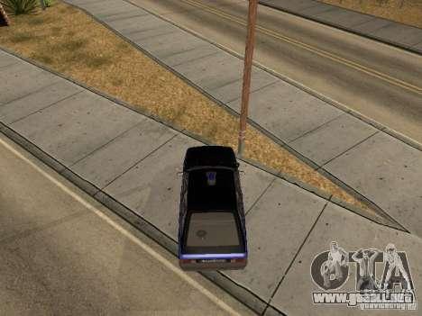 Patrulla AZLK 21418 para la visión correcta GTA San Andreas