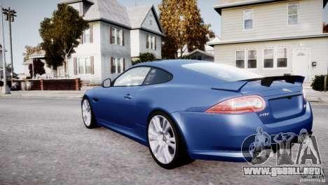 Jaguar XKR-S 2012 para GTA 4 ruedas