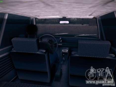BMW 2002 1972 para GTA San Andreas vista hacia atrás