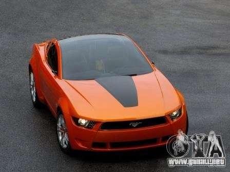 Pantallas de carga en el estilo del Ford Mustang para GTA San Andreas tercera pantalla