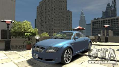 Audi TT 1.8 (8N) para GTA 4